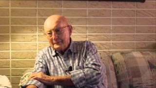 Cpl. Robert D. Gladson, WWII Veteran, 712th Tank Battalion, M4 Sherman Tank Gunner, Raw Footage
