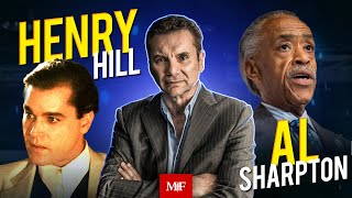 Henry Hill of Goodfellas and Al Sharpton Michael Franzese