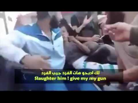 Syrian rebels funded by Turkey and USA behead a child (translated)