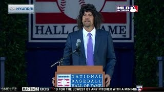 ATL@STL: Smoltz's delivers his Hall of Fame speech