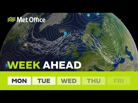 Week ahead – A windy week for the north 01/10/18