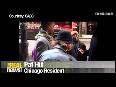 Chicago Activists Stop Forclosure