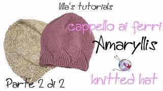 lilla s tutorials cappello ai ferri amaryllis parte 2 8f1f38dd1e8