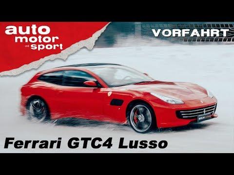 Ferrari GTC4 Lusso: Drift-Hölle oder Drift-Traum? - Review/Fahrbericht | auto motor & sport