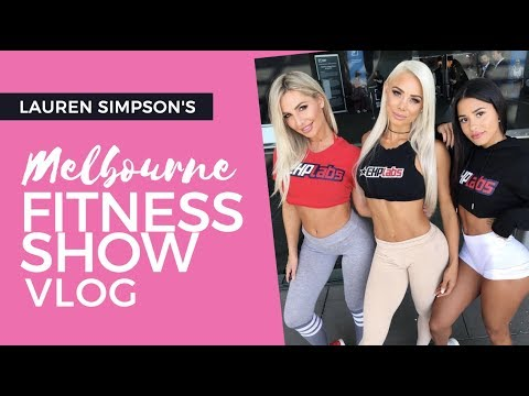 BOOTY WORKOUT / MELBOURNE FITNESS EXPO w/ EHPLABS VLOG