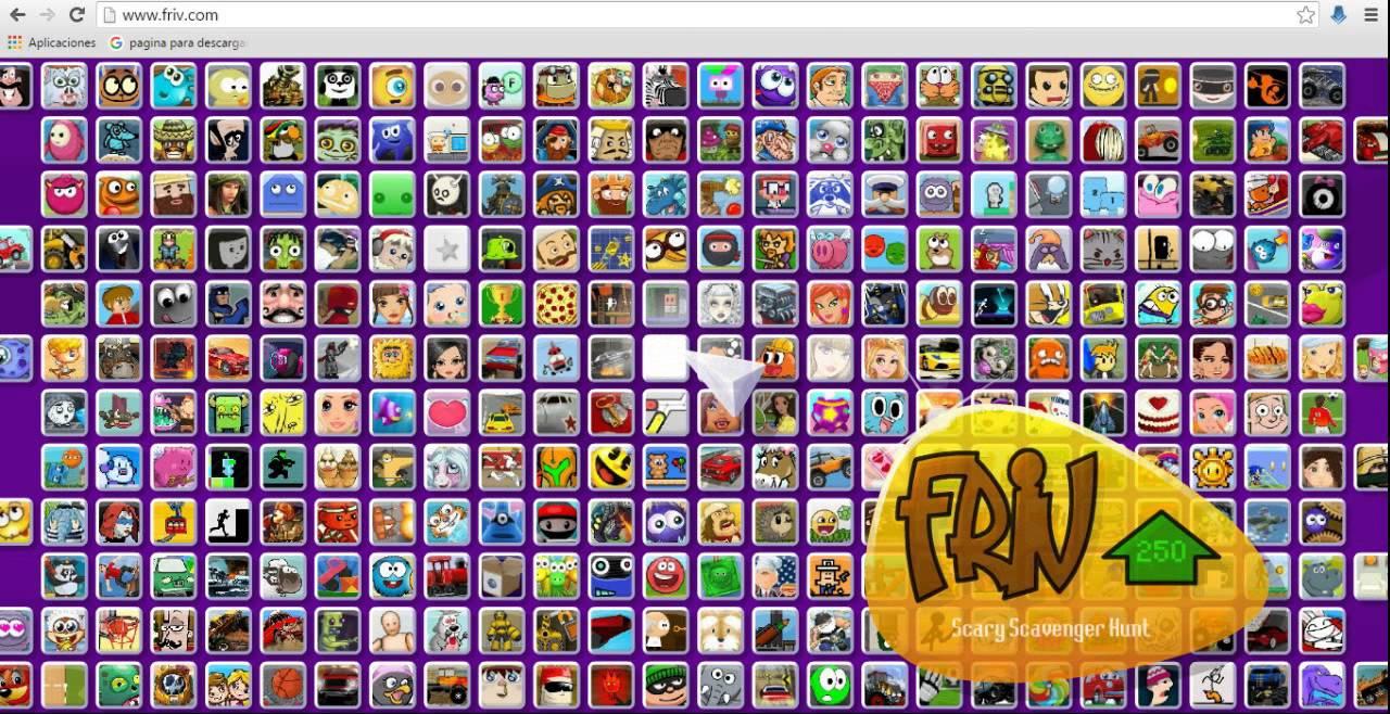 Los mejores juegos Friv ¡Gratis! - Checklisting ...