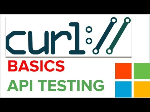 How to use CURL on Windows | How to test API with CURL | CURL Basics Step  by Step