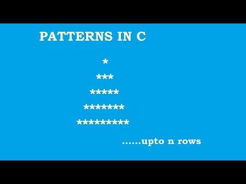C Programming Pattern Solving Example 2