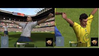 Fifa 2005 Англия Бразилия Играют тельцы видео