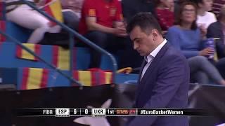 Топ моменти матчу Іспанія - Україна | Євробаскет2019