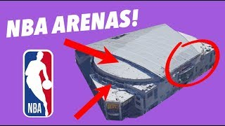 CRITIQUING every NBA ARENA - SECRETS, HIDDEN GEMS, AND TERRIBLE NAMES
