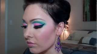 Seafoam Candy - Make Up Tutorial