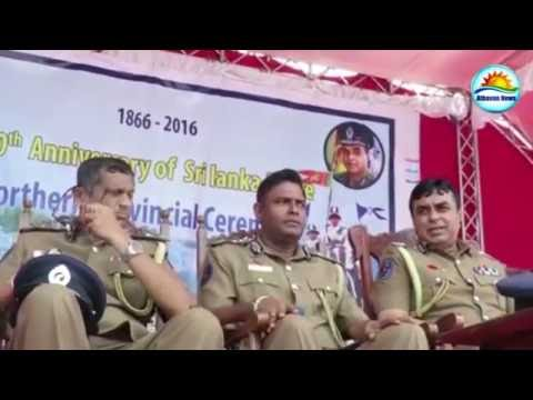 150th Police Day Event in Jaffna first time
