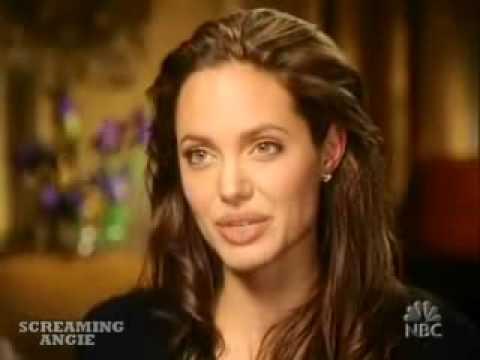 Angelina Jolie Mr.& Mrs. Smith Movie Interview