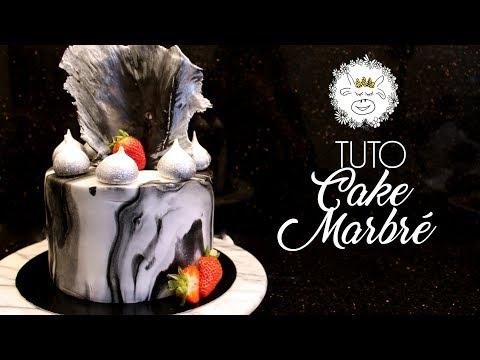tuto-:-gâteau-marbre-/-cake-design-marbré