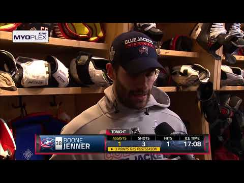 Post game: Boone Jenner 4/23/18