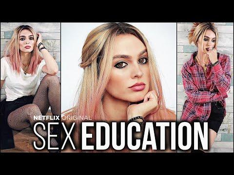 "Maeve Wiley ""sex Education"" Makeup Tutorial + Look Book"