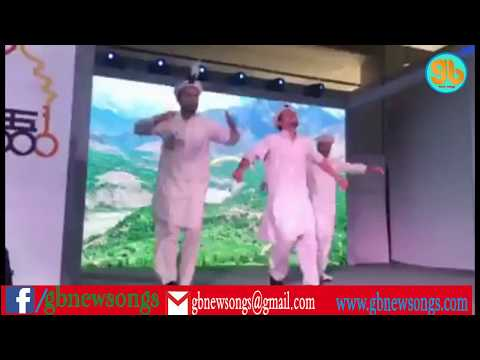 GB cultural dance in beijing china trade expo-presented by GB new songs