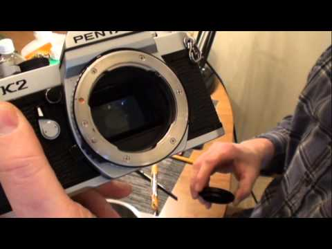 Cleaning,Detailing and Evaluating classic cameras