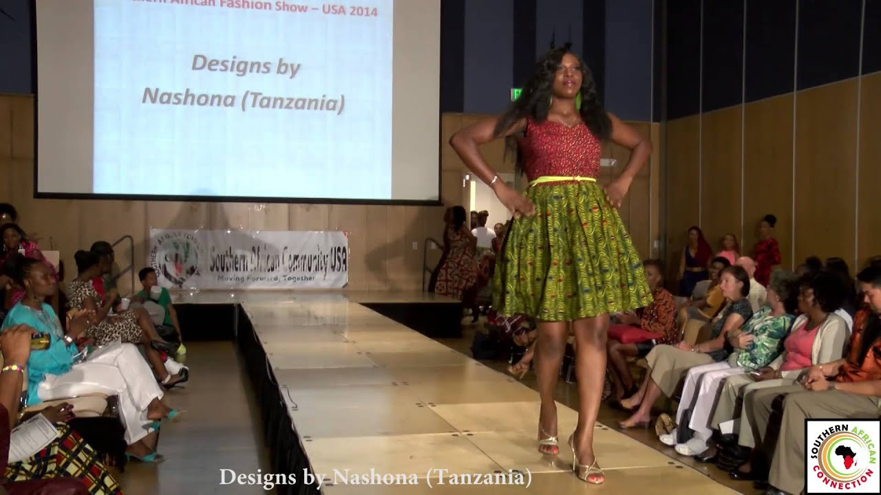 Nashona Tanzania At The Southern African Fashion Show Usa 2014 Youtube