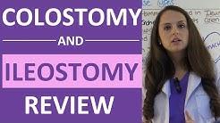 Colostomy and Ileostomy Nursing Care | Types of Ostomies NCLEX | Ileostomy vs Colostomy