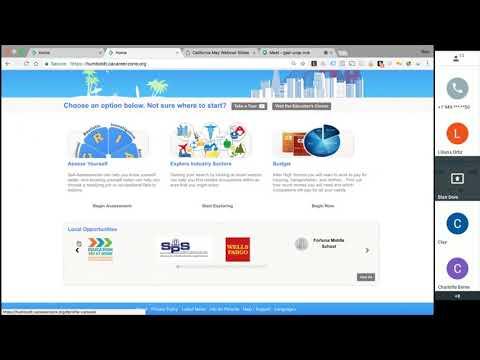 California CareerZone Webinar: Local Opportunities and the CareerZone Upgrade