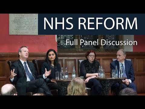 NHS Reform | Full Panel Discussion | Oxford Union