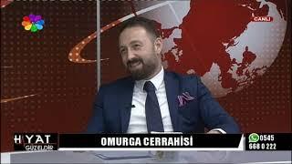 19/10/2018 CİHAN BAŞOĞLU İLE HAYAT GÜZELDİR - Op.Dr.ALİ KEMAL ULAŞ / BEYİN VE SİNİR CERRAHİSİ UZM.