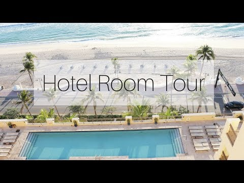 Hotel Room Tour - The Atlantic Hotel & Spa Fort Lauderdale Florida