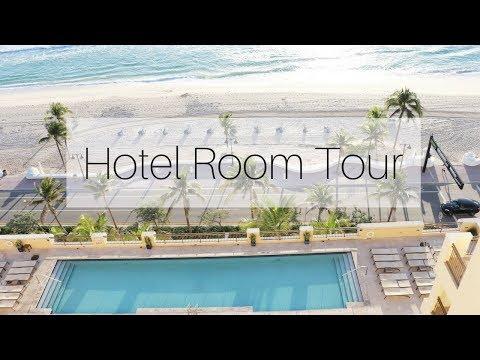 Hotel Room Tour | The Atlantic Hotel & Spa Fort Lauderdale Florida