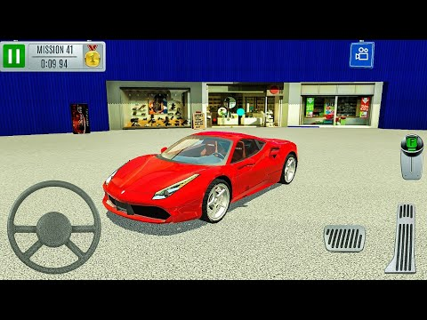 Multi Level 7 Car Parking Simulator New Car (Supercar) - Android Gameplay FHD