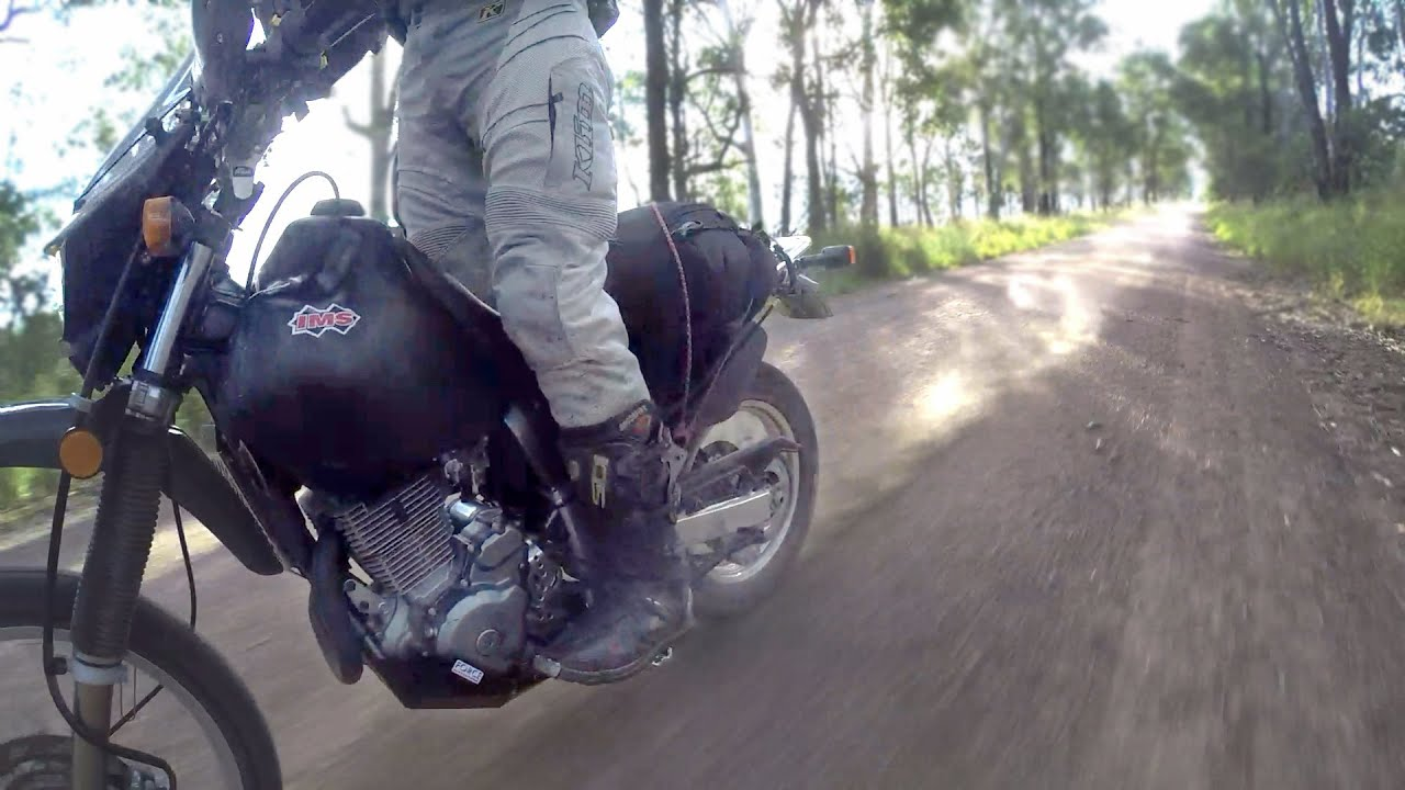 IMS FUEL TANK REVIEW FOR THE SUZUKI DR650