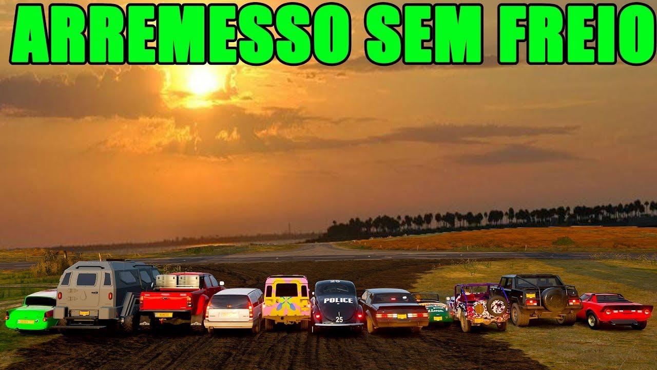 Download ARREMESSO SEM FREIO COM O CARRO MAIS PESADO DO JOGO - FORZA HORIZON 4 - GAMEPLAY