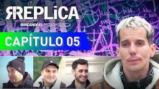 """El plan B del rap"" con Kapo, Khan y Blon | Réplica 5 | Playz"