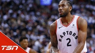 "Raps not getting too high following ""business-like"" Game 1 thrashing of Sixers"