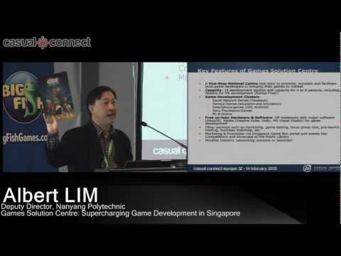 Games Solution Centre: Supercharging Game Development in Singapore | Albert LIM