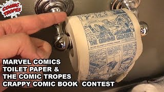 Marvel Comics Toilet Paper and the Comic Tropes Crappy Comic Book Contest