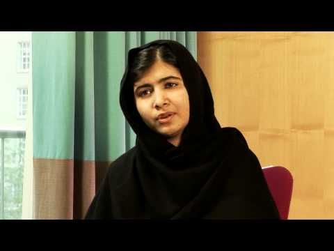 Interview with Malala Yousafzai: Fighting against terrorism in Pakistan