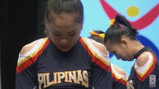 Team Philippines - ICU Cheerleading Worlds 2017 - All Girls Elite