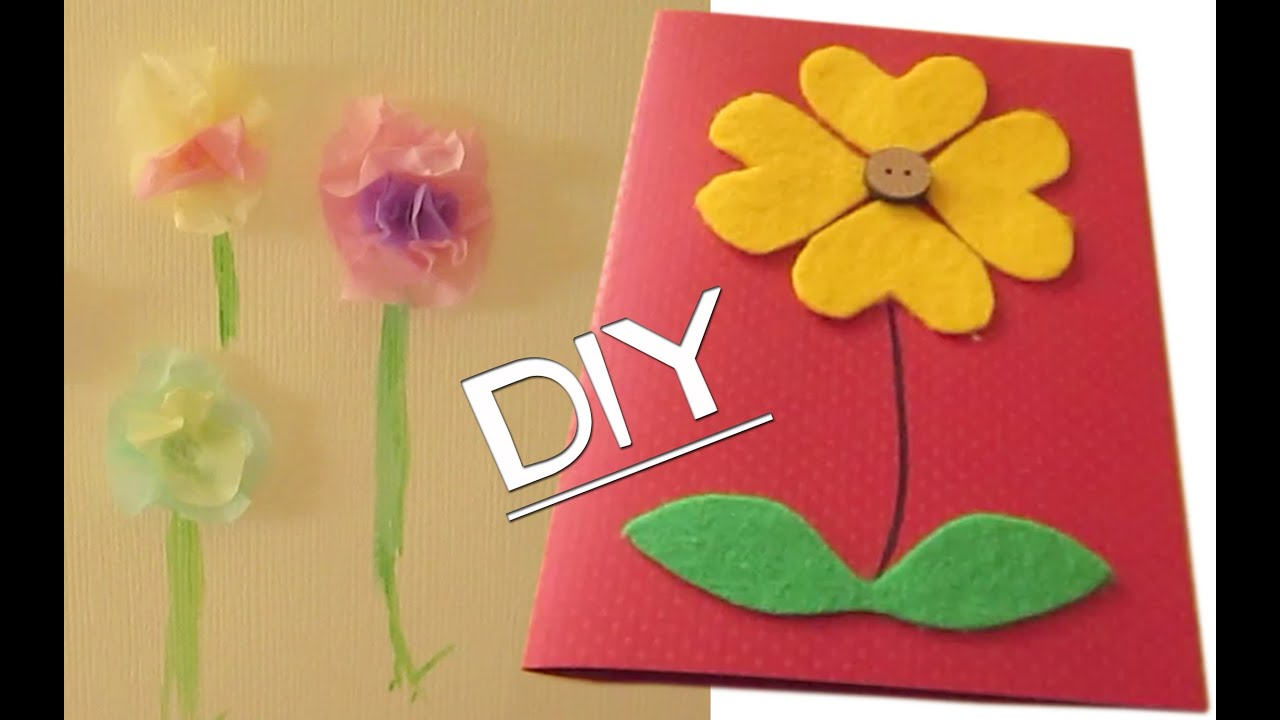 Mothers Day Card Making Ideas Part - 22: DIY Homemade Motheru0027s Day Cards Pt 1!!... Or Any Occasion! :P - YouTube