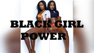 Black Female Fitness Motivation- Black Girl Power