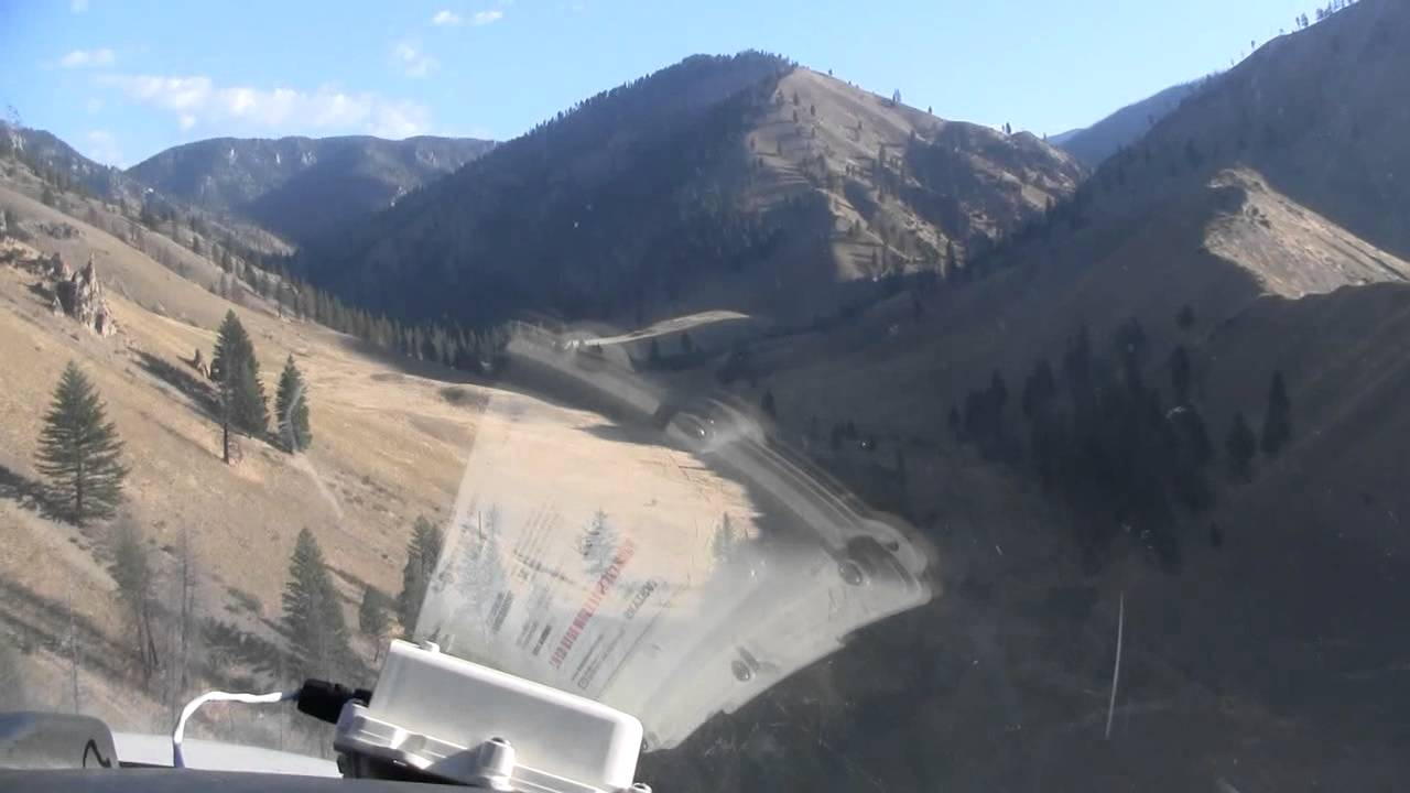 Back country landing strip idaho gram