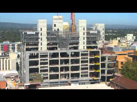 Time Lapse - Adelaide Law Courts Construction