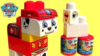 Paw Patrol Rescue Marshall Blocks Nickelodeon Lego Duplo Numbers 123 Fashems Surprise Baby Toys