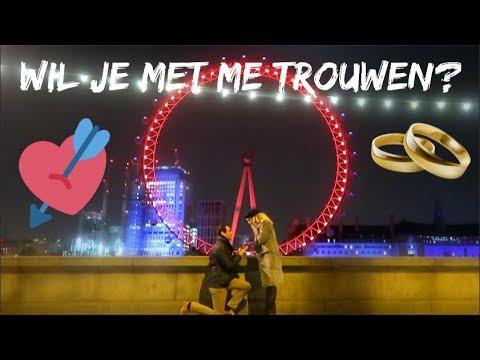 WIL JE MET ME TROUWEN? 💘💍🎡 Londen Vlog #2 | Sarah Rebecca
