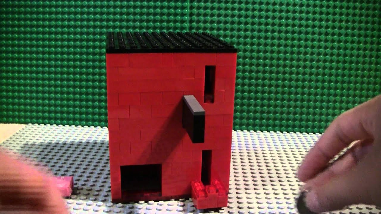 how to make a lego gumball machine mechanism
