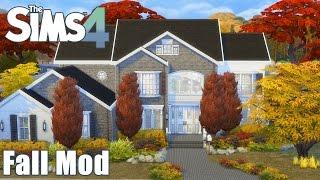 The Sims 4: AUTUMN / FALL MOD   Sonny Daniel