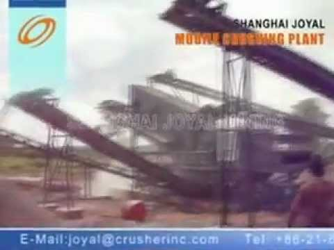 mobile crusher plant-Nigeria