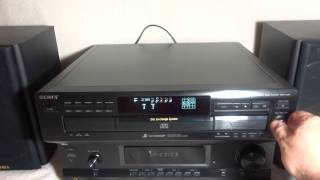SONY CDP-C591 CD PLAYER / 5 DISC CD CHANGER