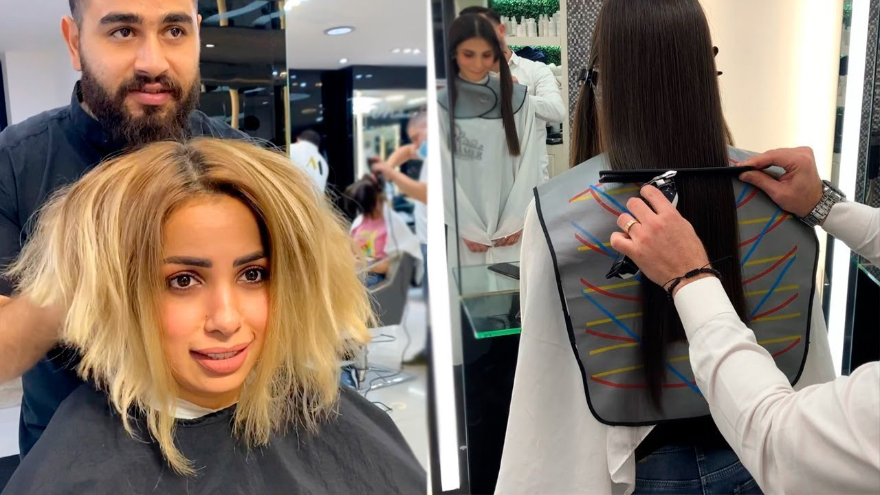 New Hair Makeover Long to Short   Beautiful Hairstyles Ideas And Colour Transformations